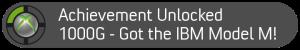IBM Model M Achievement