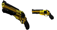 Burke's revolver