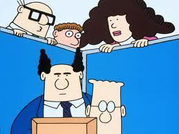 The Dilbert cast