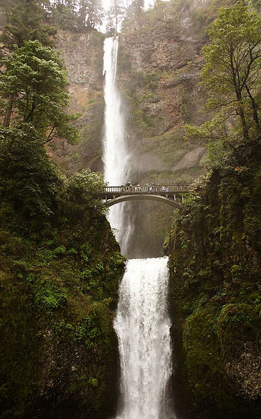 Multnoma Falls, in all its glory