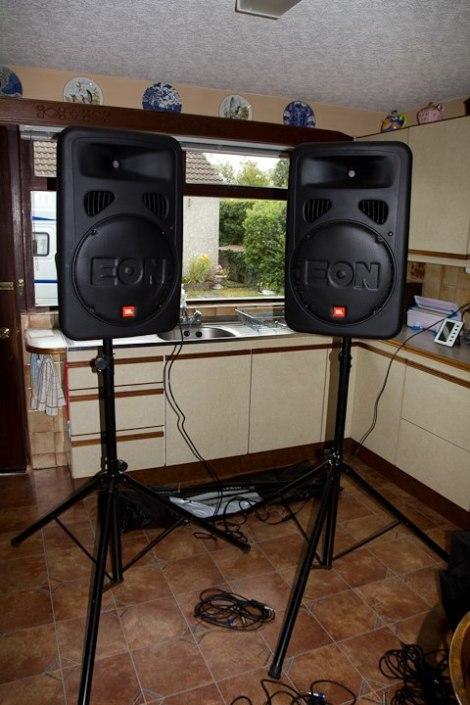 JBL Eon Mark 2 Speakers