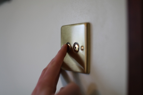 The installed dimmer
