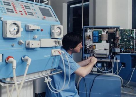 The dialysis unit