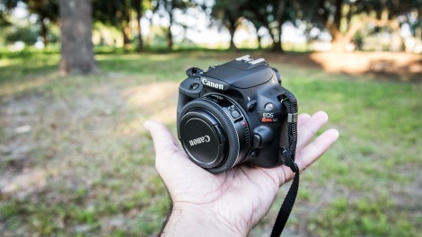 The Canon 100D (Rebel SL1) with the 40mm f2.8 pancake lens