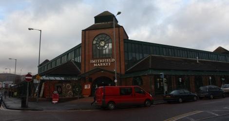 Smithfield Market...dreary