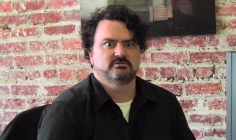 Now that's the face of inspiration! Ladies and gentlemen, Mr Tim Schafer