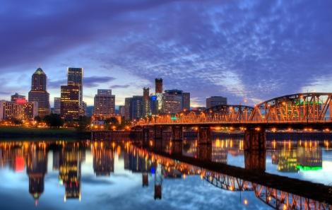 Back to Portland!