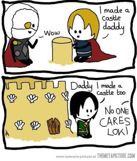 Loki's Daddy Issues