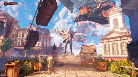 Such a vibrant and yet twisted world - BioShock Infinite