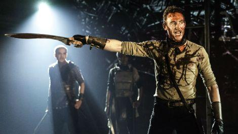 Tom Hiddleston in Coriolanus