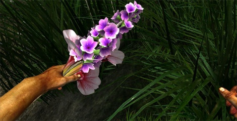 You'll spend most of your time in Miasmata desperately searching for anything that remotely resembles a flower.