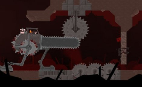 One of the bosses in Super Meat Boy. This sums it up perfectly.