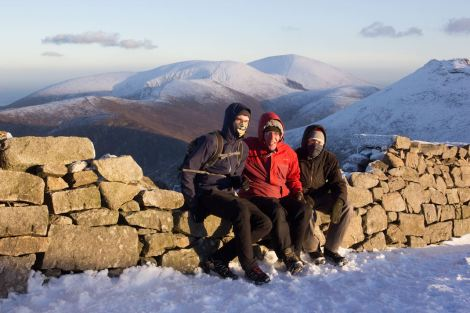 The three adventurers... (Photos by Newforge Studios, Copyright Brian Douglas 2014)