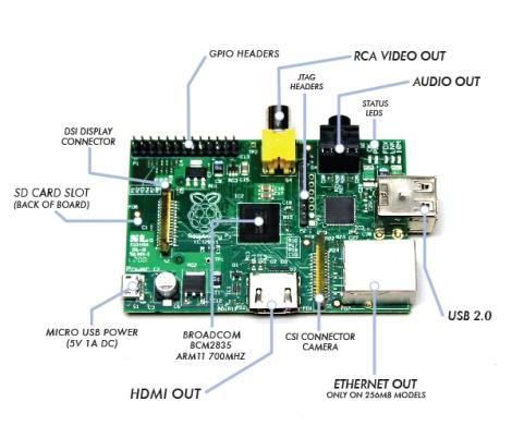 The Raspberry Pi!