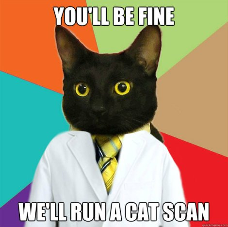 Doctor Cat to the rescue!
