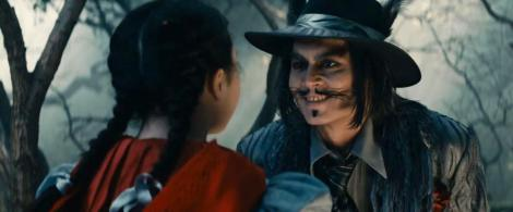 The Big Creepy (Depp) Wolf