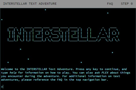 Interstellar-Start