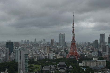 Tokyo tower-scape