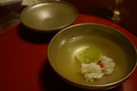 Conger eel and wax gourd soup