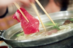 Shabu shabu (Photograph by Robyn Lee, serious eats)