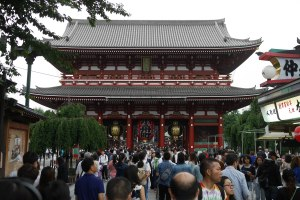 Senso-ji temple in Asakusa