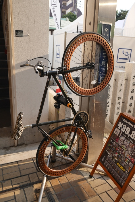 Cool looking custom bike for sale in Osu