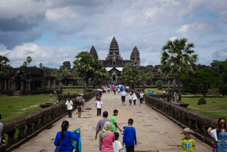 The mystical Angkor Wat