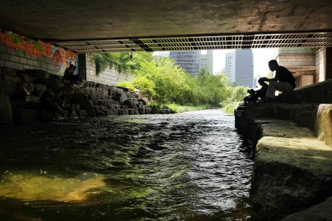 The urban stream