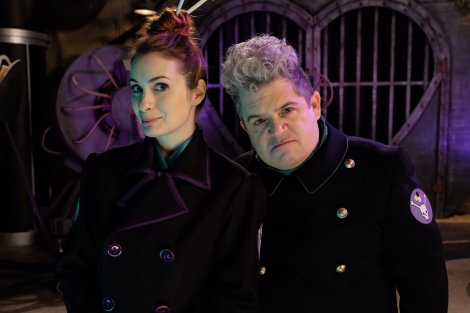 Felicia-Day-and-Patton-Oswalt-in-MST3K-Reboot