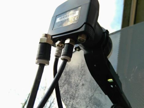 Quad LNB satellite cables